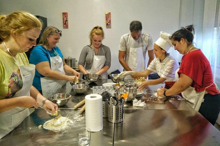 Pasta and ravioli making class